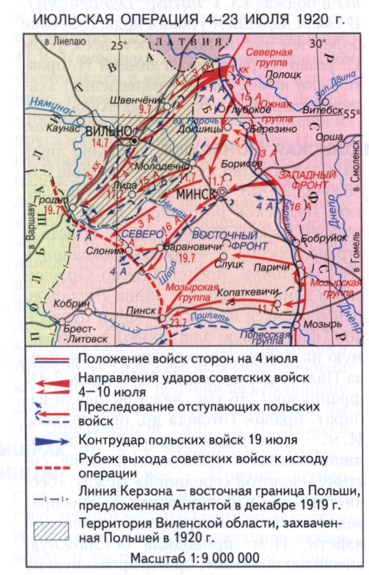 Июльская операция 1920