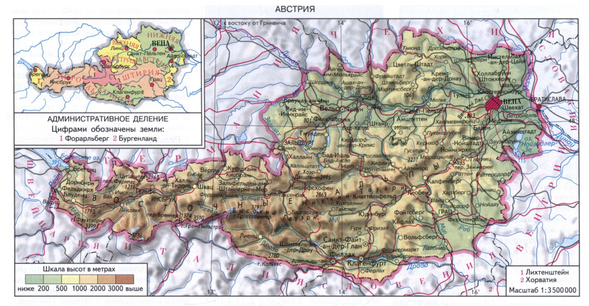 админделение Австрии