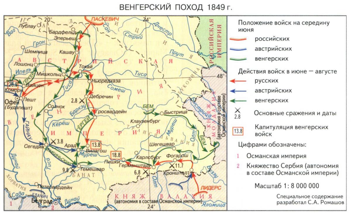 Венгерский поход 1849 года