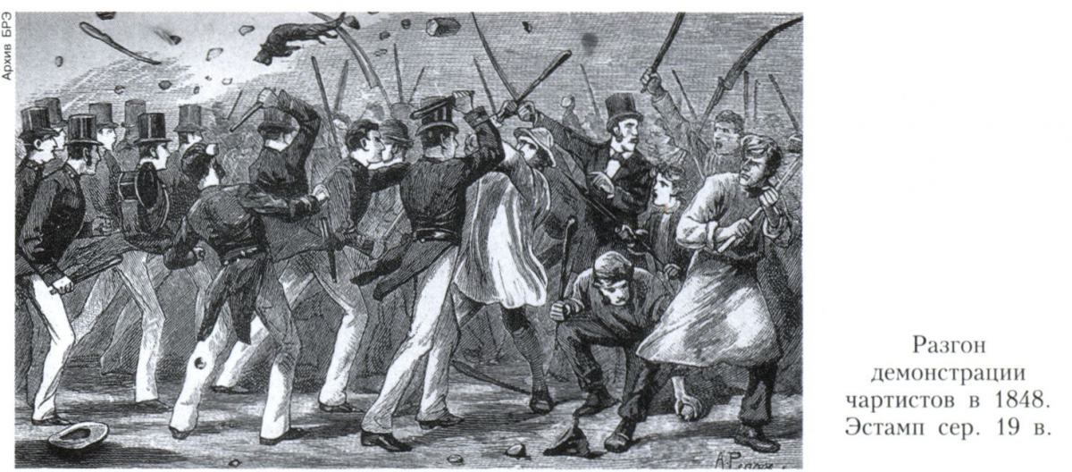 a description of the chartist movement as one of rights 1 a uk parliamentary reform movement of 1837-48, the principles of which were set out in a manifesto called the people's charter and called for universal suffrage for men, equal electoral districts, voting by secret ballot, abolition of property qualifications for mps, and annual general elections.