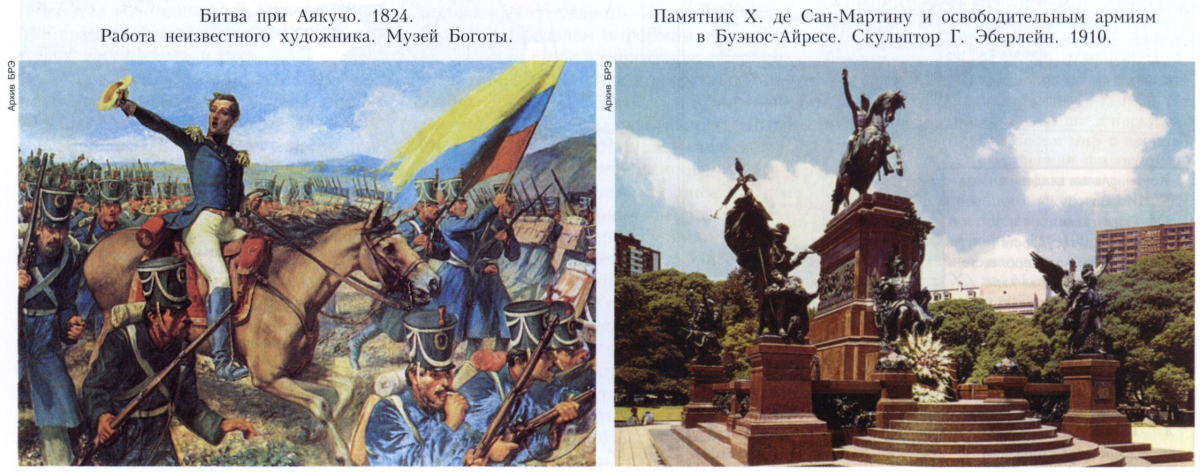 Война за независимость в Латинской Америке