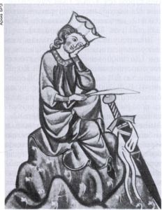 миниатюра из рукописи