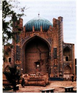 Мавзолей-мечеть Ходжа Абу Наср Парса в Балхе. Кон. 15 в.
