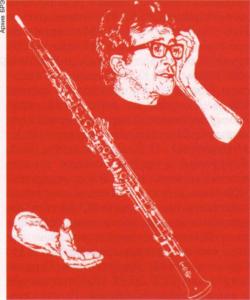 Афиша концерта Л. Берио. 1970. Париж.