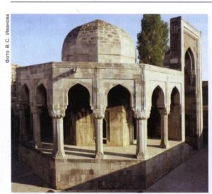 дворец ширванханов