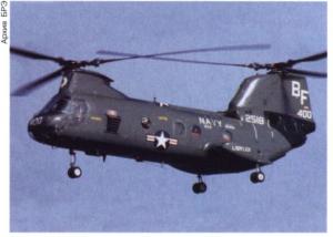 Транспортный вертолёт Chinook-46 (США).