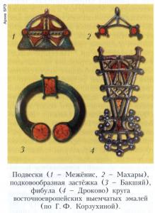 Восточноевропейские выемчатые эмали