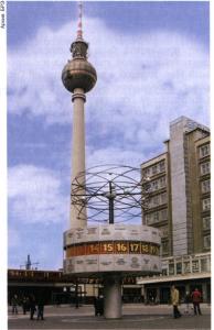 Берлин. Панорама Александерплац.