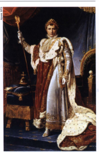 Ф. Жерар. «Наполеон Бонапарт в коронационном костюме»