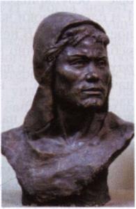 Погребённый из 2-го Полянского могильника  (8-7 века до нашей эры)